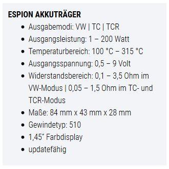 Espion E-Zigarette bad Segeberg